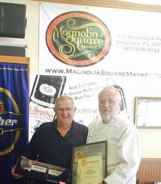 Tucher USA honored us for selling the most Tucher in Florida 3 years running.