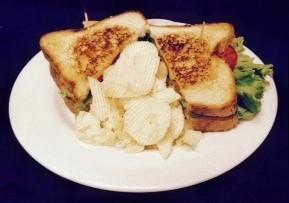 Buffalo Chicken Schnitzel Sandwich