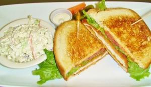 Buffalo Schnitzel Sandwich
