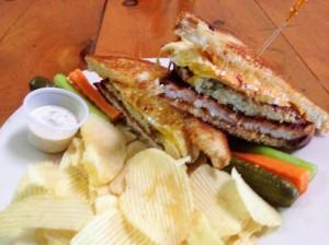 Royale Schnitzel Sandwich