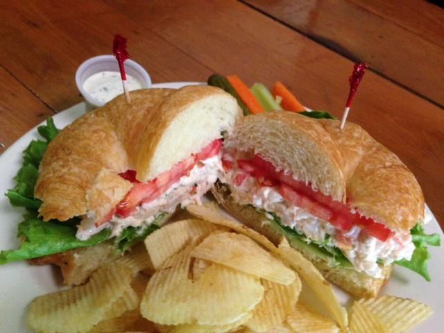 Seafood Salad Sandwich 2