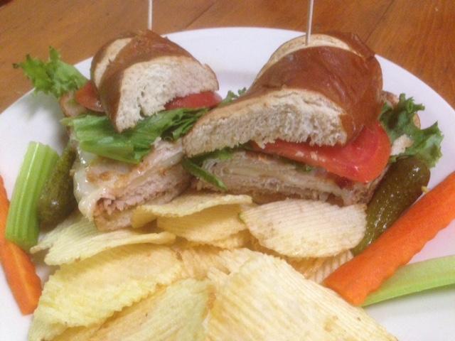 Piggy Pretzel Sandwich 2.2
